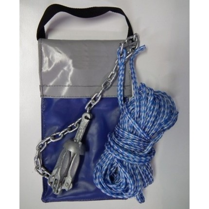 Folding Anchor Kit in Bag 0.7kg